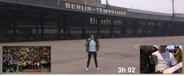 Berliner Marathon Staffel 2012